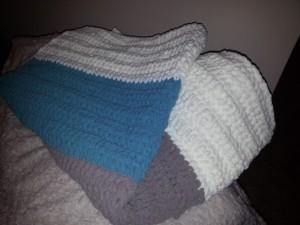 Super squishy baby blanket